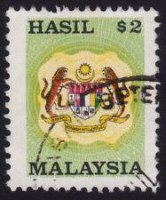MALAYSIA $2 Revenue/Hasil USED @H009