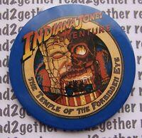 Disney Button DLR Indiana Jones Adventure Temple of the Forbidden Eye