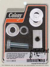 Harley 84-99 Softail Top Motor Mount Kit Zinc Plated Colony 2853-6