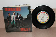 "Humans Play 7"" vinyl picture sleeve gatefold plus poster"