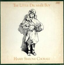 HARRY SIMEONE CHORALE Little Drummer Boy LP STEREO CHRISTMAS HOLIDAY VINYL T-580