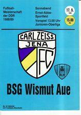 OL 88/89 FC Carl Zeiss Jena-BSG bismuto remissione dei peccati, RS-B
