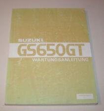 Werkstatthandbuch Suzuki GS 650 GT - Stand 1986!