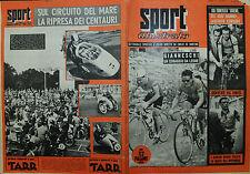 SPORT ILLUSTRATO N°12/24.MAR.1955 - GIANNESCHI UN CORAGGIO DA LEONE - DERVCKE