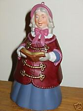 Hallmark Dickens Caroler Bell #2 Mrs. Beaumont 1991MIB
