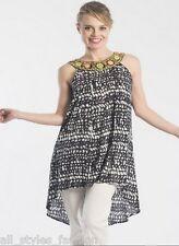 Plus Size Tunic Egyptian Style Sleeveless Top NWT 18