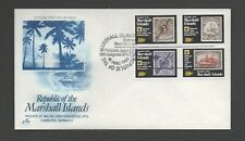 MARSHALL ISLANDS 1984 19th U.P.U. CONGRESS *UNADDRESSED FDC* CONGRESS POSTMARK
