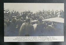 CPA AVIATION : LA CATASTROPHE DE LA COURSE PARIS MADRID 21 MAI 1911 - TBE