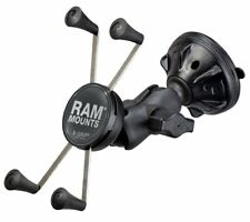 RAM Short Arm Suction Cup Mount w/ X-Grip Cradle fits iPhone 7 Plus, 8 Plus