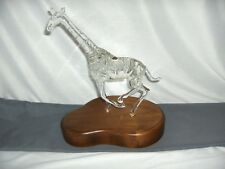 Godo Frabel Hand Blown Crystal Figurine Sculpture Giraffe Limited  24/150 RARE