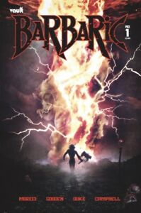 🚨🔥 BARBARIC #1 HAL LAREN 616 Exclusive Variant GOD COUNTRY Homage LTD 500 COA