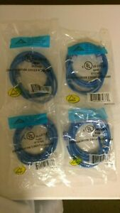 Lot of 4 CAT5e 7FT Blue Cord /Cable - AT1507EV-BU