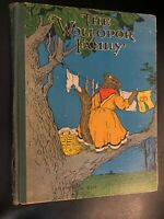 The Wollopor Family No315 Hare Miller 1927 Hardcover Saalfield Publishing Book