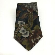 """Gant Multi Color Floral 80% Rayon 20% Wool Men's Neck Tie 3.75"""" Width USA Made"""