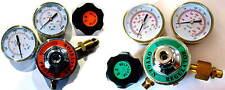 Propane (or Acetylene) & Oxygen Regulator Set, 3 inch gauges - Torch Welding
