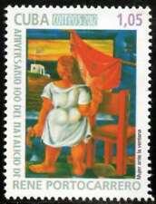 6Cuba Sc# 5276    RENE PORTOCARRERO  Painting ART  2012  MNH  mint