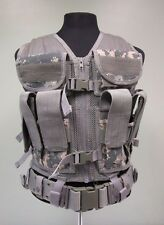 Military Molle Vest Tactical Mesh Digital Camouflage Military Zip Closure One Sz