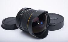 Samyang CS 8mm F3.5 Ultra Wide Fisheye Lens for Canon EF - MINT LN w/ Caps