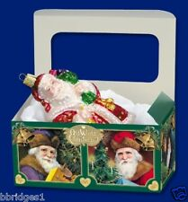 New ListingSet of 5 Large Old World Christmas Ornament Gift Storage Box Boxes - New [14035]