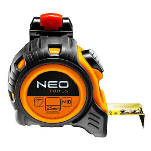 Neo Tools Tape Measure Quick Release Belt Clip - METRIC ONLY-  Size: 5m/8m