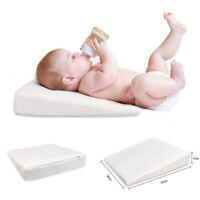 Anti Reflux Baby Wedge Pillow Anti Spit Milk Cushion Memory Foam F Bassinet Pram
