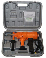 "4"" NEW 2 SPEED HAND HELD CORE DRILL WITH CASE"