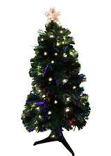3 FT 90 CM LED Christmas Tree Pre-lit Lights Small Artificial Green Xmas