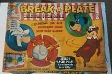 1961 Huckleberry Hound, Quick Draw, Yogi Bear, Break A Plate Carnival Game