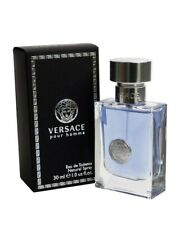 VERSACE POUR HOMME BY VERSACE-EDT-SPRAY-1.0 OZ-30 ML-AUTHENTIC-MADE IN ITALY