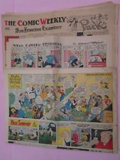 1934-37 San Francisco Examiner Comic Strips (All The Popular Titles)*See Details