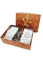 Tea Gift Box Of Tea With InfuserAssorted Variety Herbal Tisane Black Green Sampl