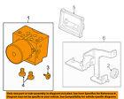 GM OEM ABS Anti-lock Brakes-Modulator Valve 15919298