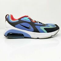 Nike Mens Air Max 200 AQ2568-401 Blue Black Running Shoes Lace Up Low Top Sz 12