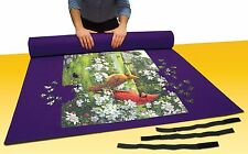 "Jumbo Puzzle Mat Board 48"" x 36"" With Roll Up Storage Tube NEW"