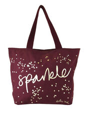 "RADLEY LONDON "" SPARKLE "" Burgundy Canvas Tote Bag Msrp $35.00"