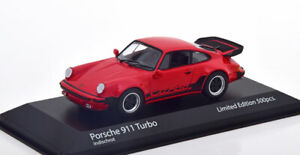 1:43 Minichamps Porsche 911 (930) Turbo 1979 red/black