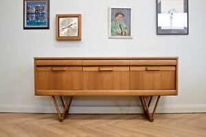 DELIVERY £60 Mid Century Retro Teak Compact Sideboard or Dresser