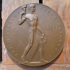 Medaille um 1900 Leverkusen Friedr. Bayer AG 25 Jahre Treue Mitarbeit