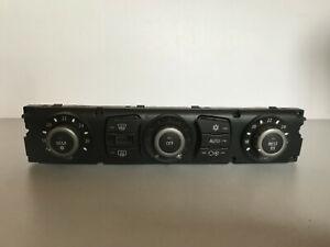 BMW 5 E60 E61 2005 CLIMATE HEATER AIR CON SWITCH CONTROL PANEL UNIT 6956827