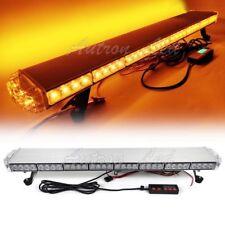 """37"""" Amber 70W LED Emergency Beacon Response Warning Truck Roof Strobe Light Bar"""