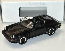 RARES MODELL NZG PORSCHE 911 SPEEDSTER G - MODELL IN SCHWARZ 1:43 NUMMER 254100