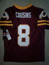 Washington Redskins KIRK COUSINS nfl Jersey YOUTH KIDS BOYS CHILDRENS (m-medium)