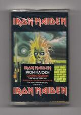 IRON MAIDEN - S/T self titled SEALED cassette Castle + 3 bonus tracks