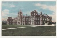 Queens College Belfast Northern Ireland Vintage Postcard 744b