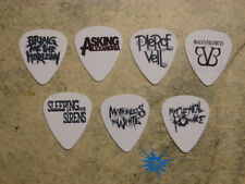 Emo band  SINGLE SIDED PICTURE GUITAR PICKS  Set of 7