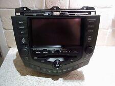 03 - 08 HONDA ACCORD CD PLAYER RADIO SAT NAV SATELLITE NAVIGATION SCREEN L@@K