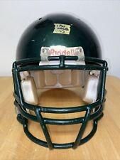 Riddell Revo Adult L Football Helmet (Metallic Hunter Green W/ HG FM)
