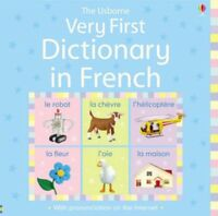 Children French English Picture Dictionary to build your kids vocabulary