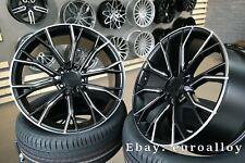 4x 20 inch 5x112 Styling 742 Wheels For BMW 5-7 G30 G11 G32 Black Alloy Rims New