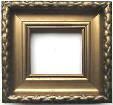 bronzefarbener Rahmen um 1910, 19 x 22,5cm. (K)